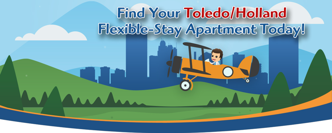 Siegel Suites low cost apartments in Toledo/Holland, OH