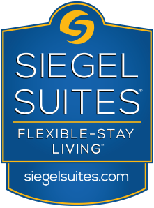 Siegel Suites Logo - affordable flexible stay apartments