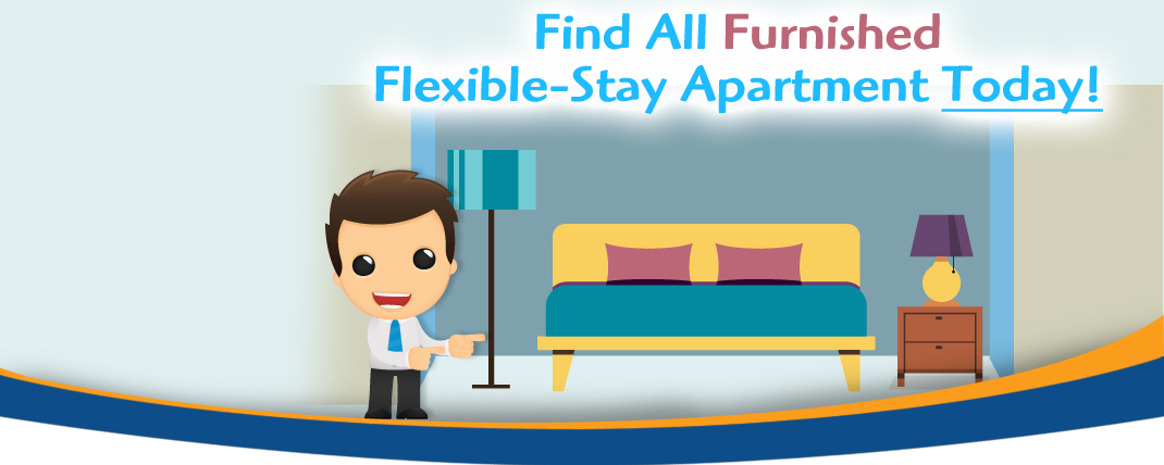 find your furnished flexible stay apartment image - Siegel Suites low cost flexible stay apartments