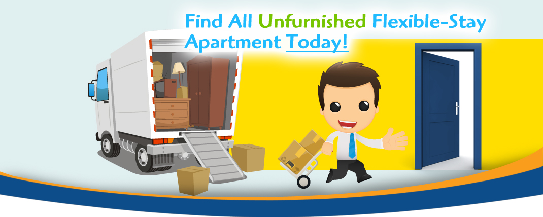 find your unfurnished flexible stay apartment image - Siegel Suites low cost flexible stay apartments