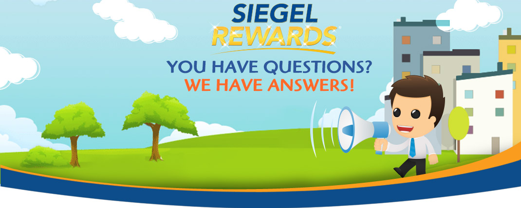 Siegel Rewards Q&A banner - Siegel Suites low cost flexible stay apartments