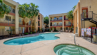 Siegel Suites Graphic Center Dr Las Vegas, NV affordable extended stay weekly & monthly rate apartments
