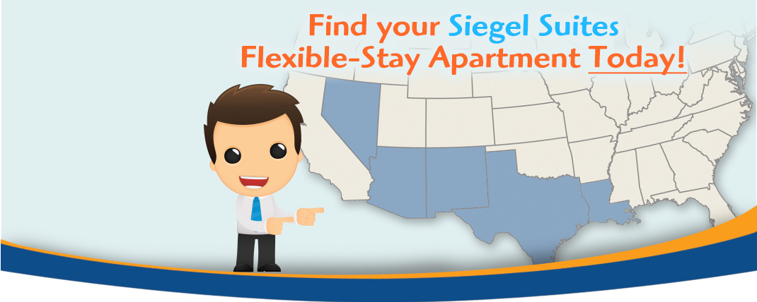 Apartments for Rent - Siegel Suites - Great Value - No Credit Check